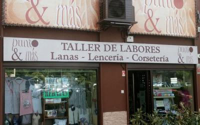 Tienda de Lanas Punto y Más.