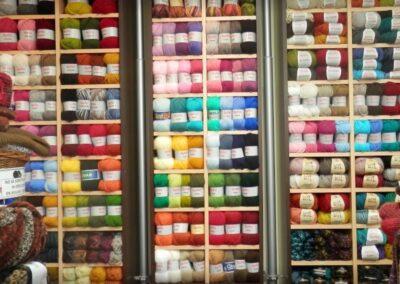 estanterías lanas